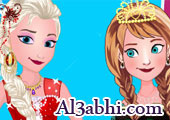 frozen with anna and elsa games